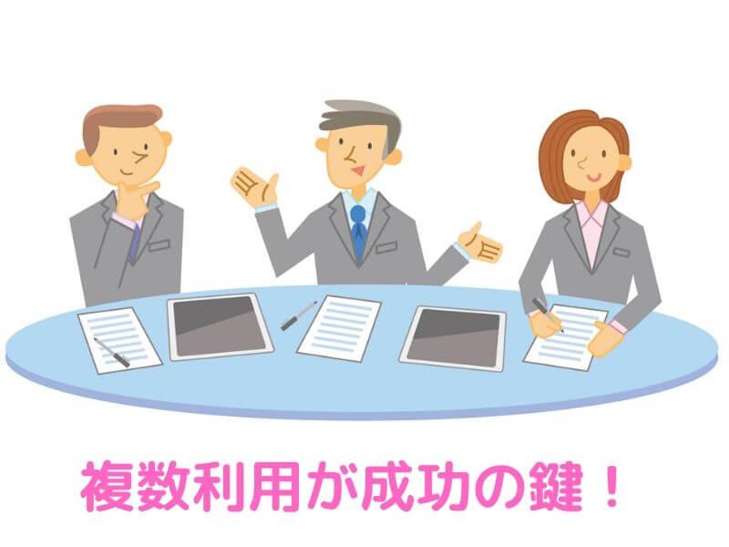 転職エージェントは何社登録すべきか?