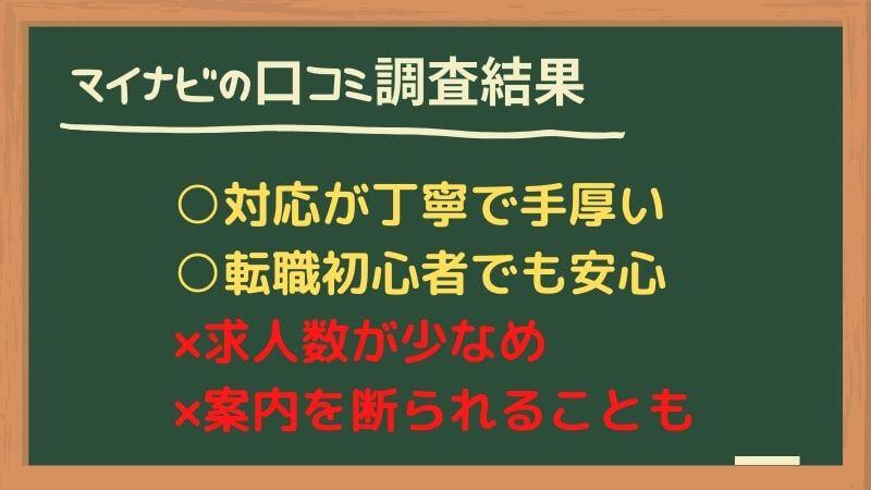 マイナビエージェントの評判・口コミ