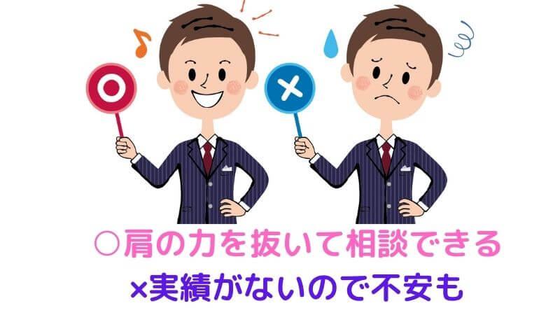 えーかおキャリアの口コミ・評判